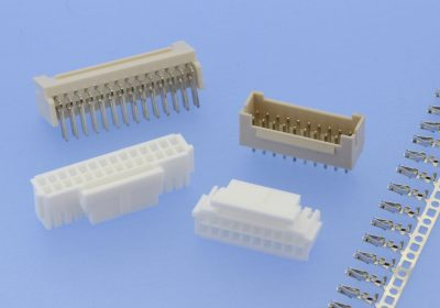 W-t-B; Wire-to-Board; basic grid 2,00mm; locking; female housings; crimp contacts; pin headers; reverse polarity protection