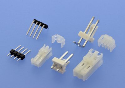 601 602 W-t-B IDC connector basic grids 2.54mm and 3.96mm straight and right-angled version